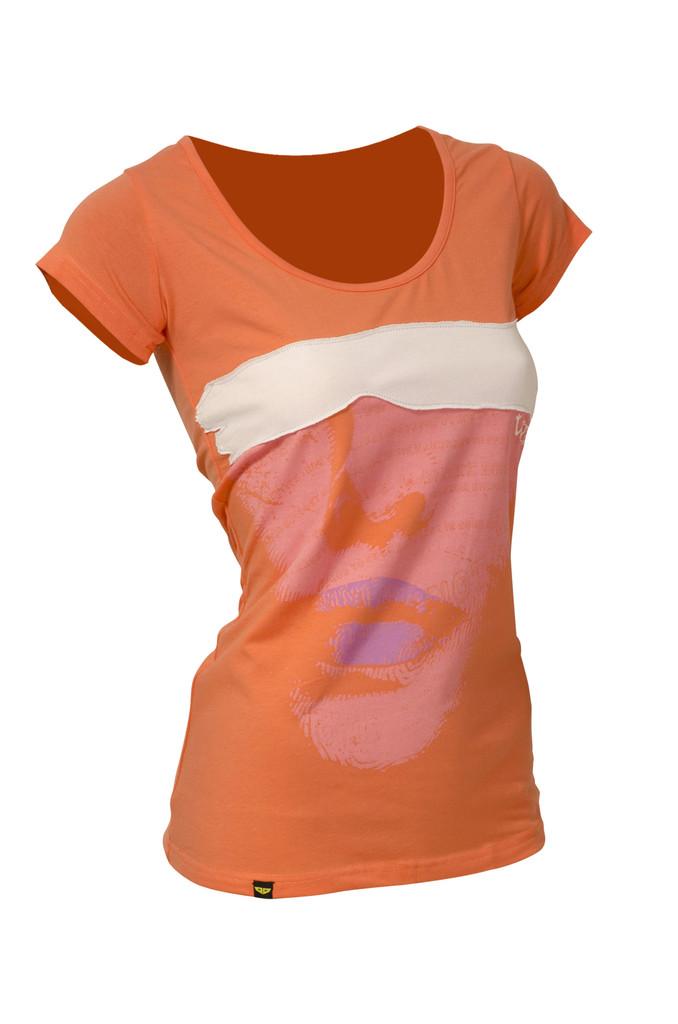Dámské tričko Who peach