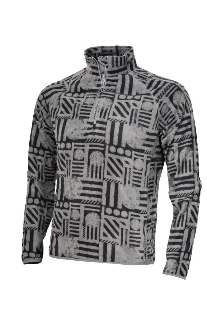 Pánská mikina Cubic heating grey