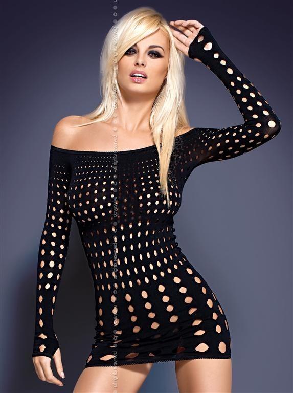 Košilka Obsessive Rocker dress