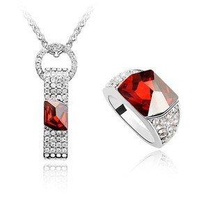 Prsten + náhrdelník sw-138re