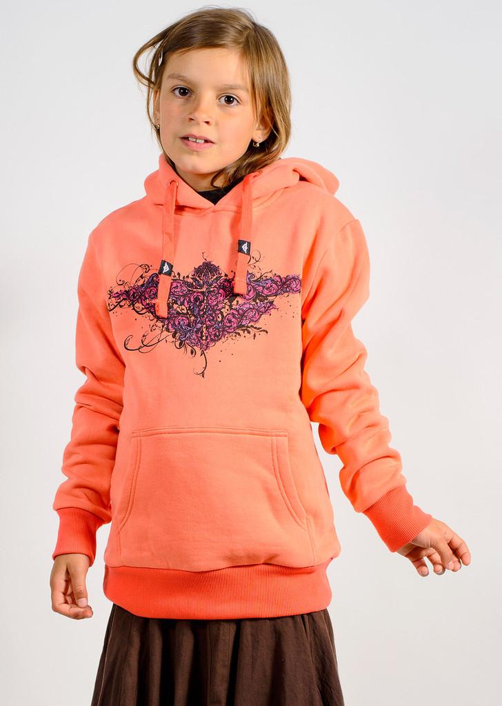 Dívčí mikina Junior Creeper Hoodie peach
