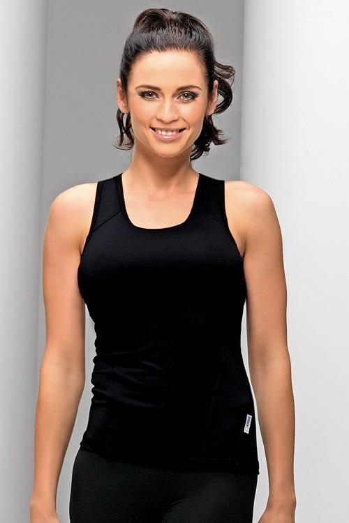 Fitnes tričko Milenka black