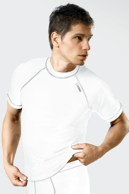 Funkční prádlo triko Classic V white