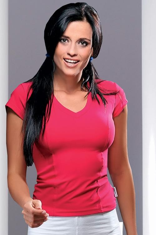 Fitnes tričko Gracia pink