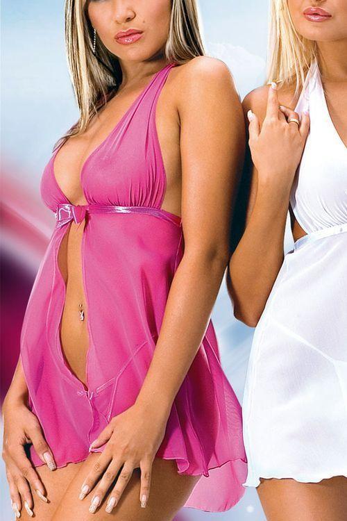 Erotické šaty Livia pink