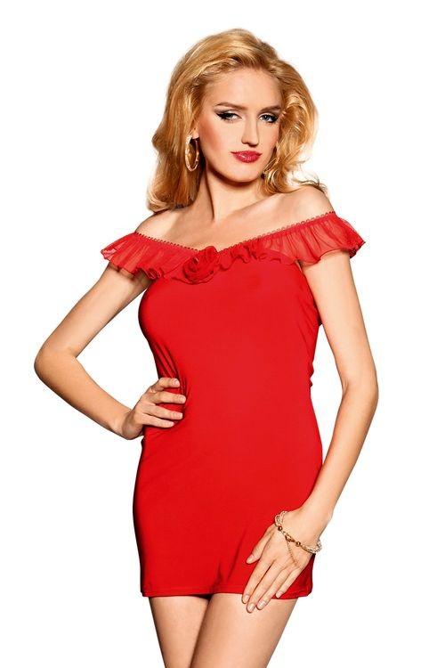 Dámské šaty Scarlett red