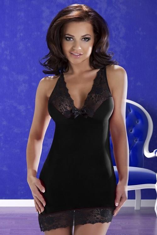 Dámská košilka Cora chemise black