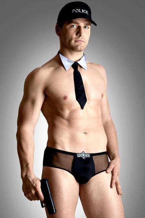 Pánský erotický kostým Policeman set