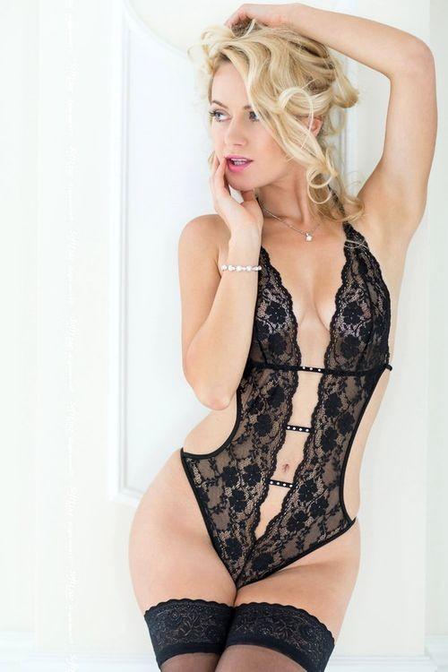 Erotické body Beth black