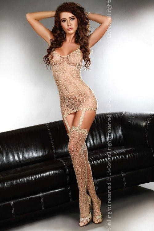 Bodystocking Catriona beige