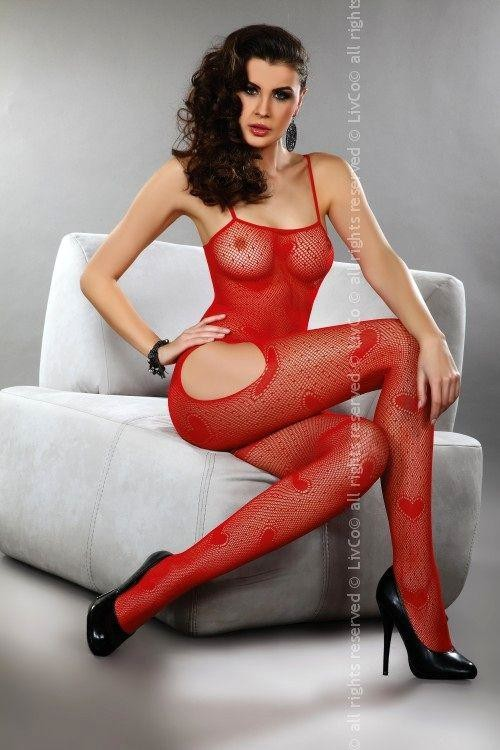 Bodystocking Titania red
