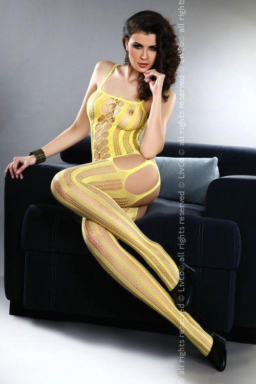 Bodystocking Almas yellow