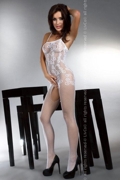 Bodystocking Orrienne white
