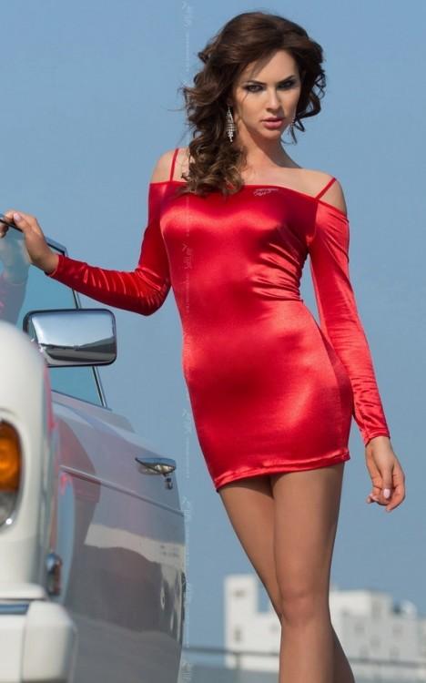 Dámské šaty Tyler red