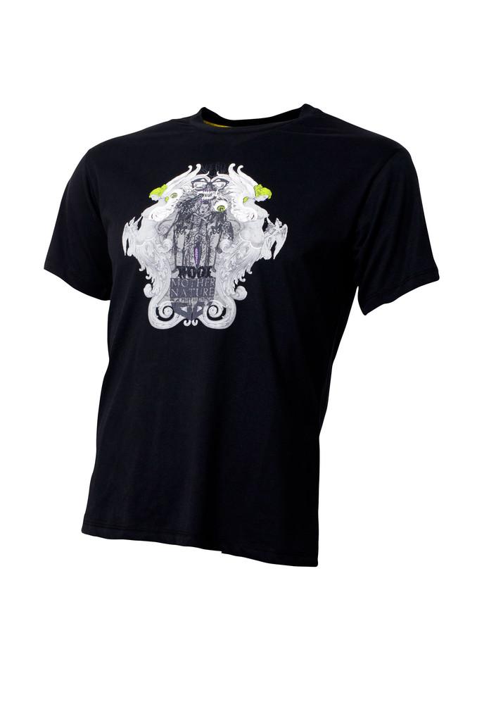 Pánské tričko Mother Nature Black