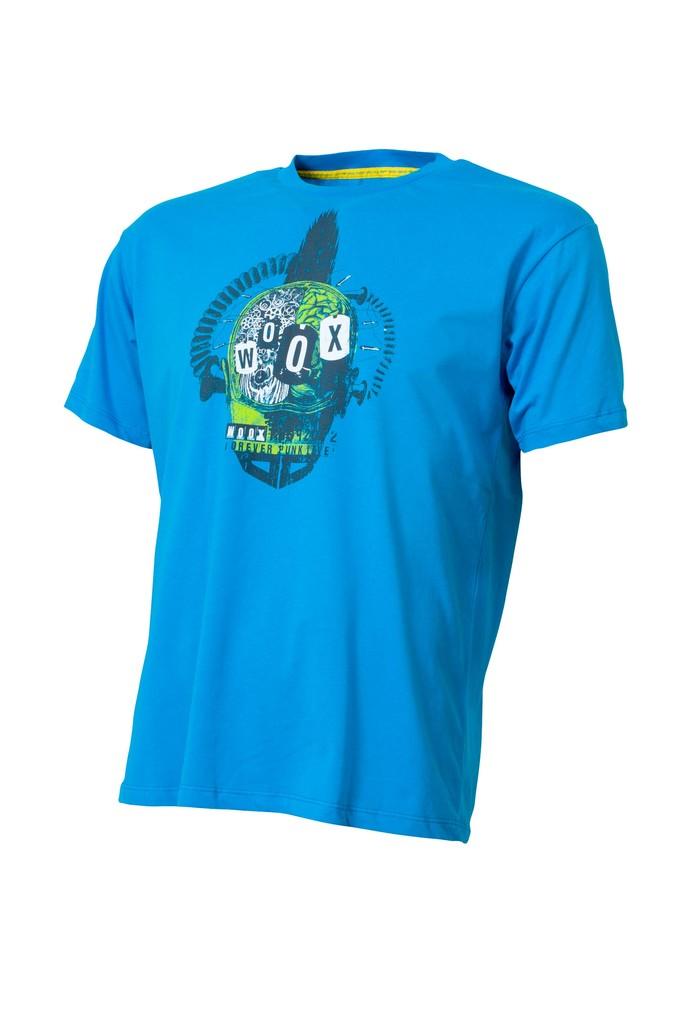 Pánské tričko Steampunk Blue