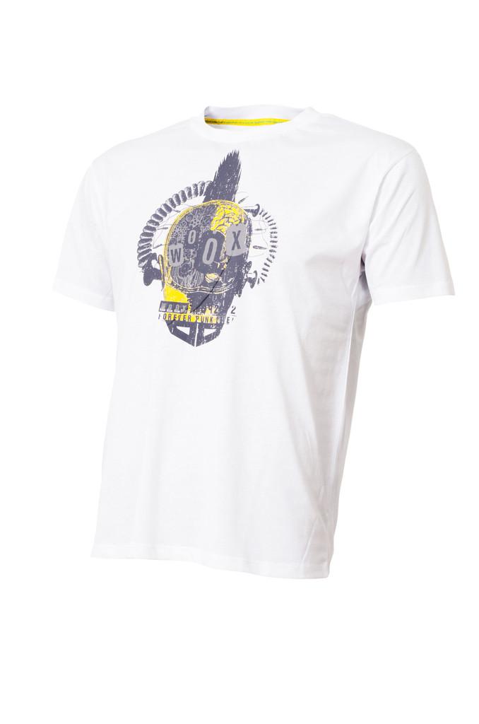 Pánské tričko Steampunk White