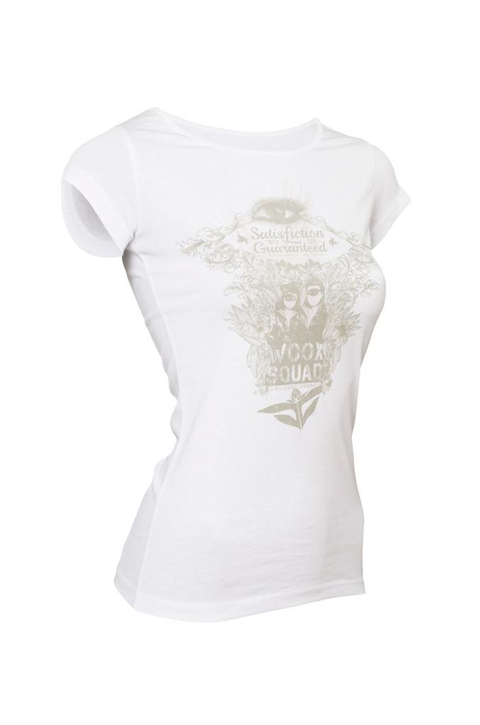 Dámské tričko Satisfiction White