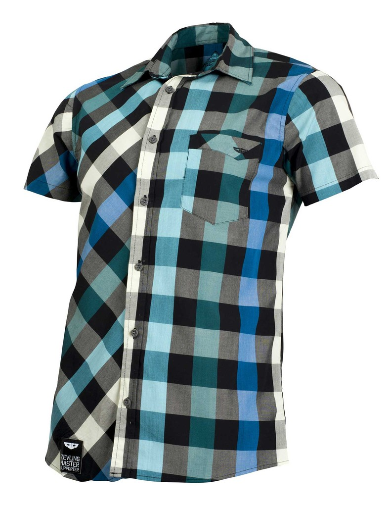 Pánská košile Check Shirt Green