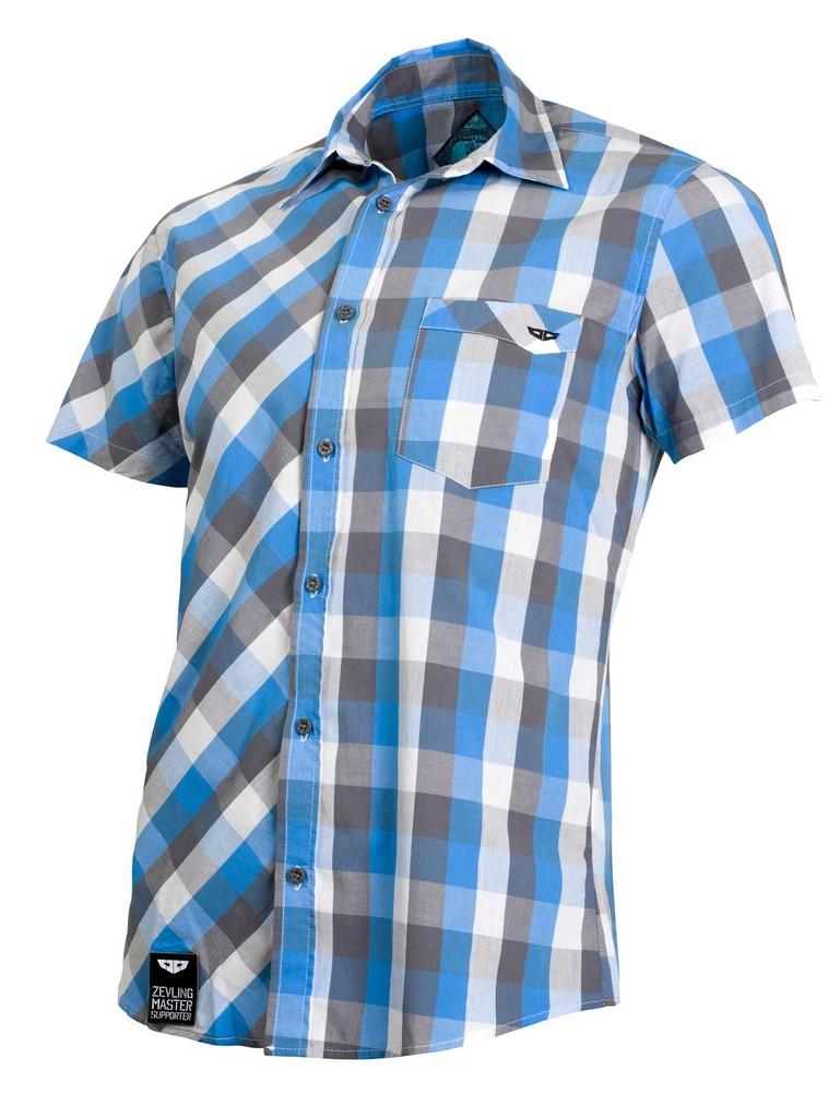 Pánská košile Check Shirt Blue