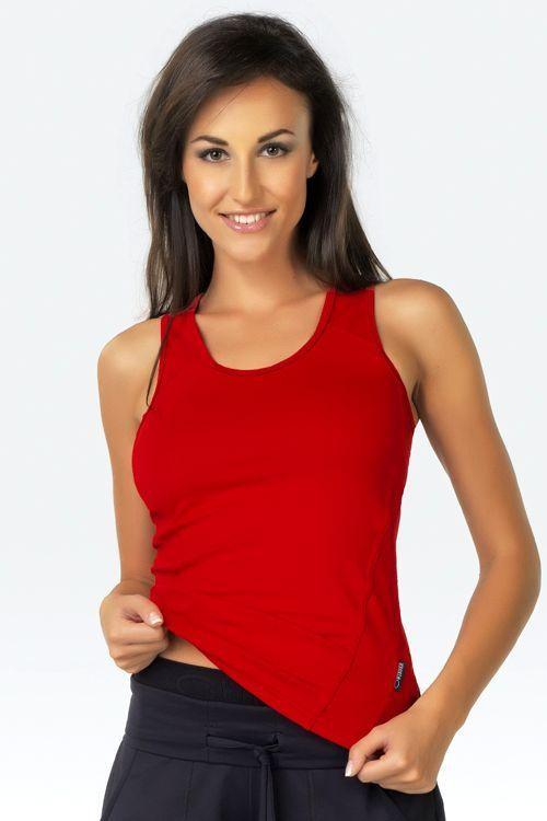 Fitness tílko Milenka red