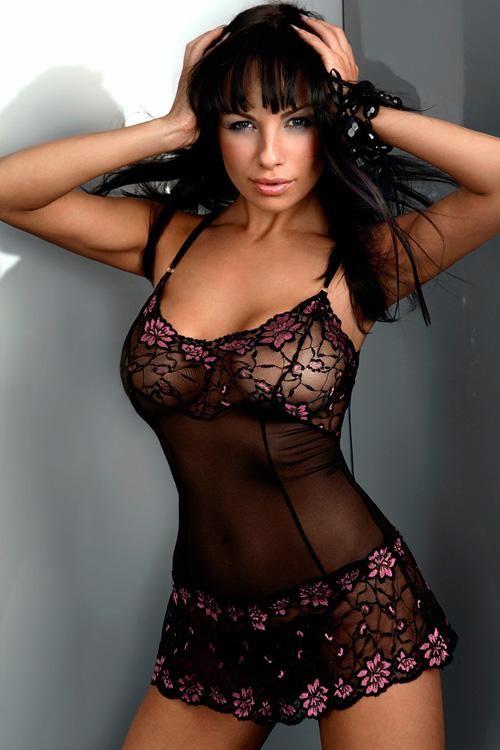 Dámská košilka Liliane black