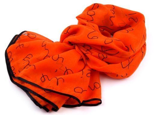 Šátek s nápisy  (1 ks)