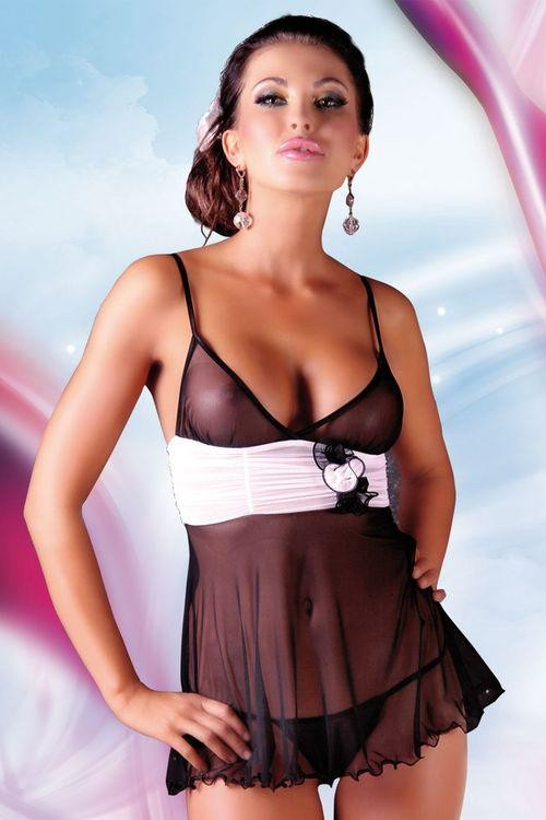 Erotická košilka Fiore black