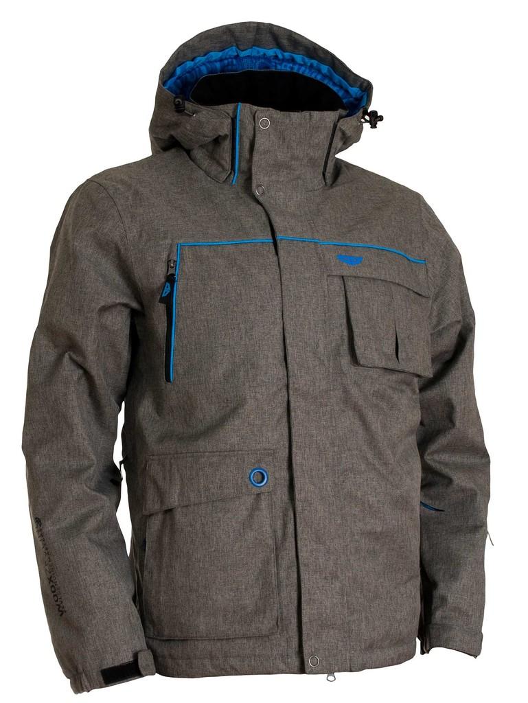 Pánská zimní bunda Twill Mens´ Jacket Grey