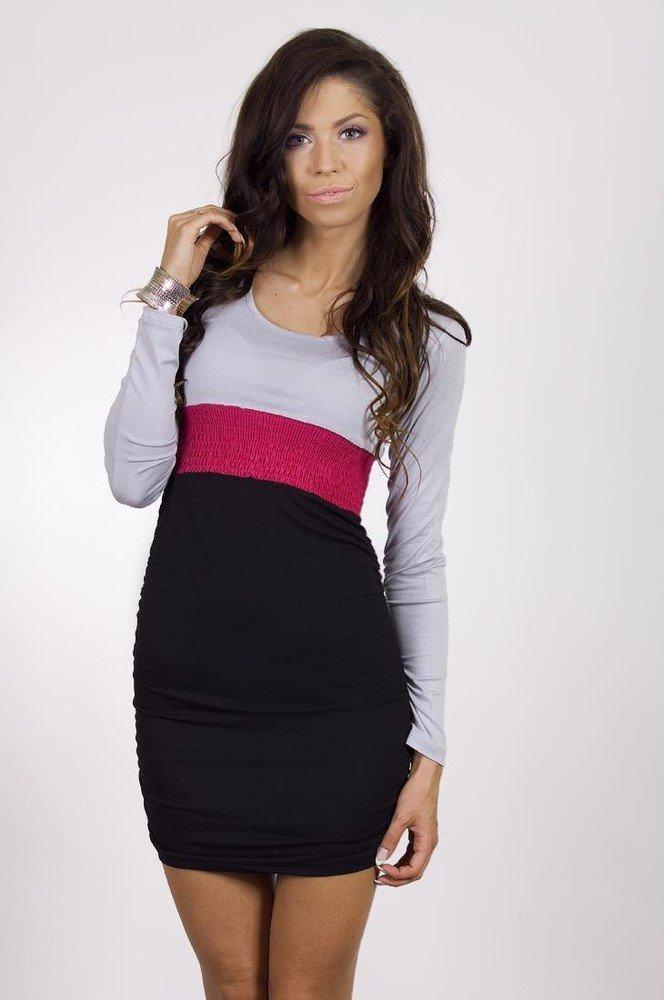 Dámské mini šaty k5329pi