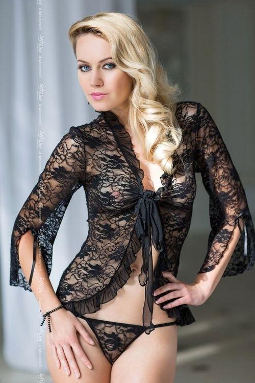 Erotická souprava Emilie black