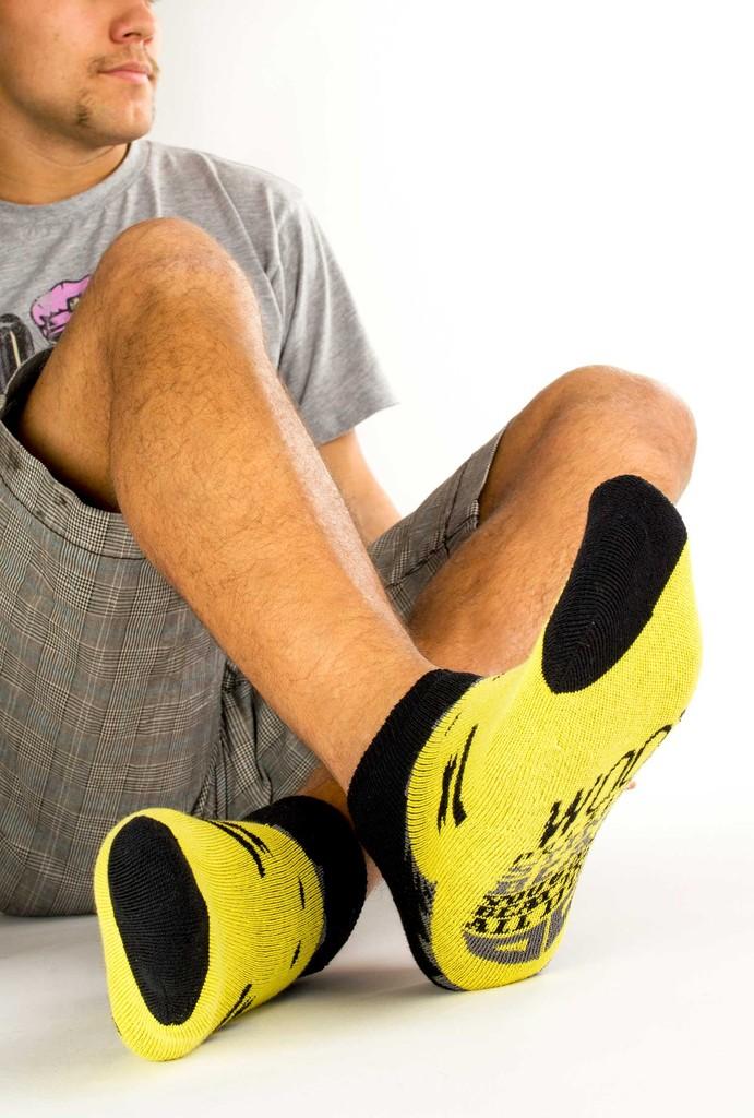 Pánské ponožky Beast machos´ short black