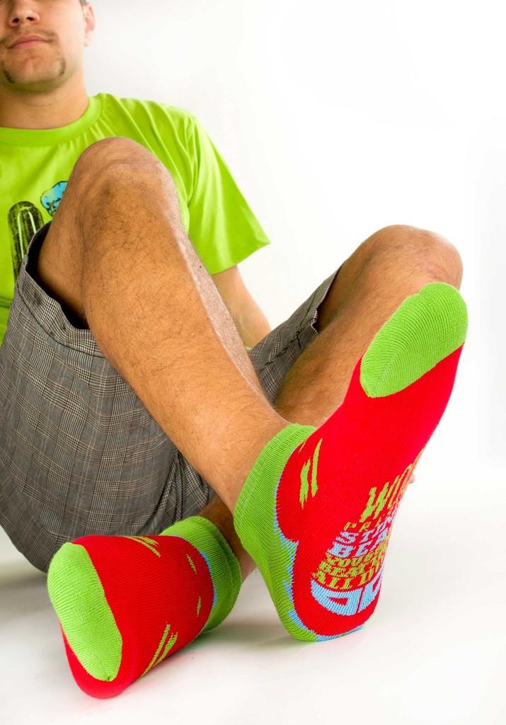 Ponožky pro muže Beast machos´short green