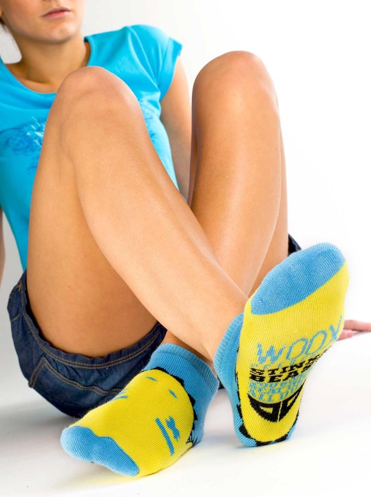 Dámské ponožky Beast chicas´ short blue