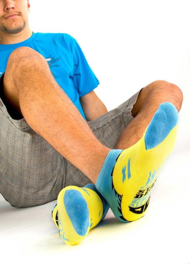 Pánské ponožky Beast machos´ short blue