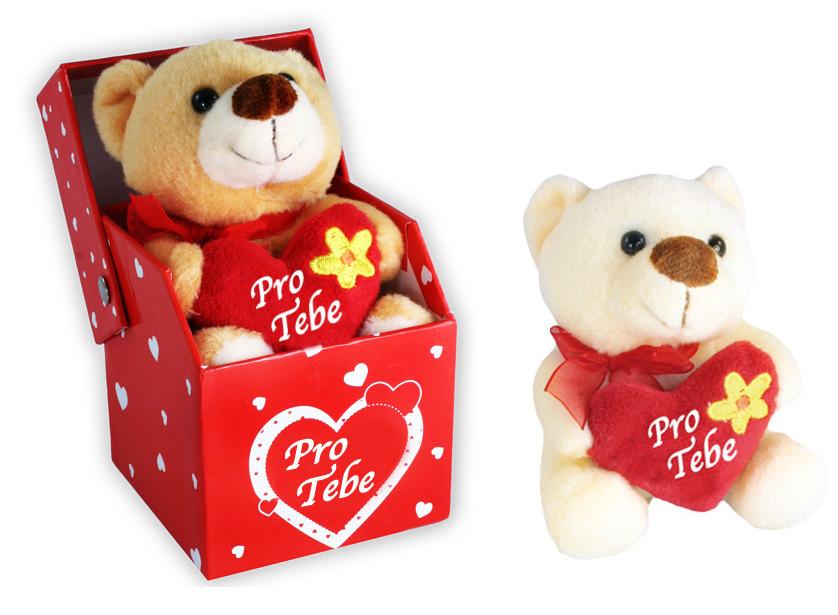 Plyšový medvěd 10cm v krabičce