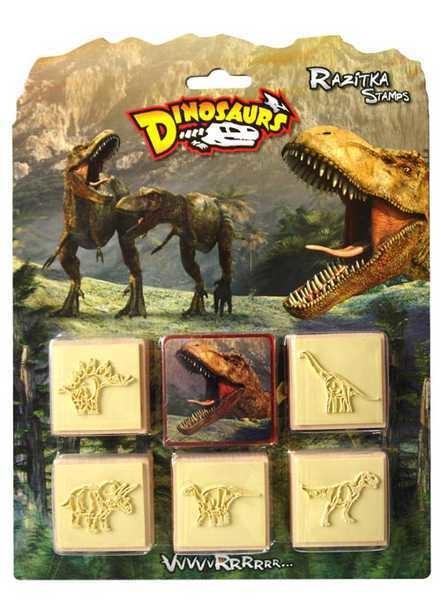 Razítka - Dinosaurus  5+1