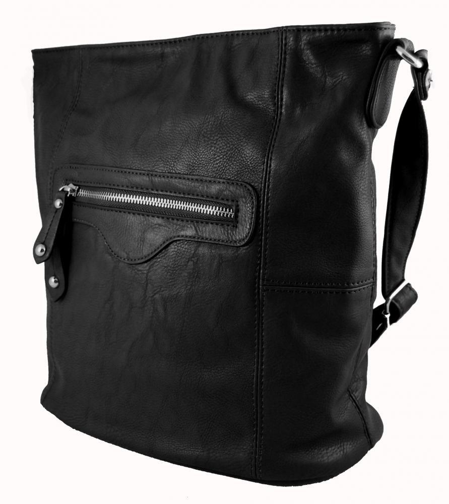 Dámská kabelka crossbody D1001 černá