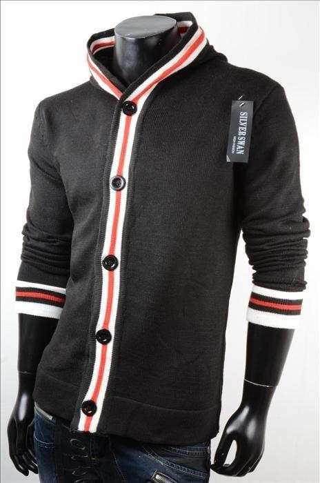Pánský pletený svetr p-sv04bl