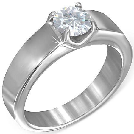Prsten z chirurgické oceli th-zrc119