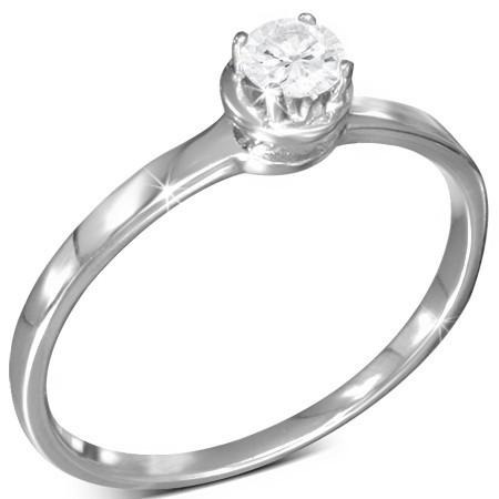 Prsten dámský s krystalem th-zrc117