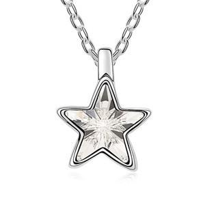Řetízek s přívěskem hvězdičky sw-189wh