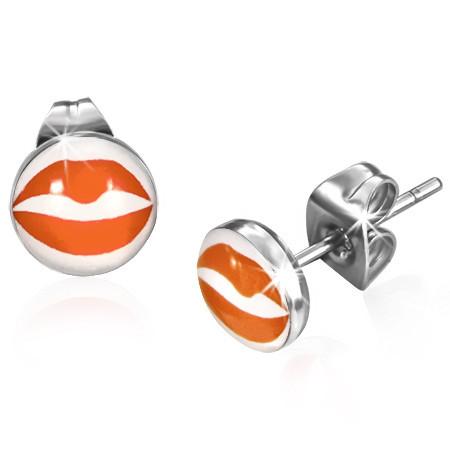 Ocelové náušnice KISS th-xxe074