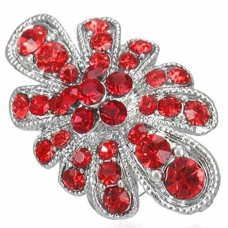 Prsten s krystaly th-frb066