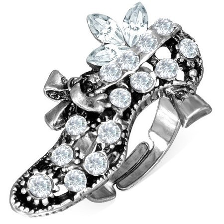 Dámský prsten s křišťály th-frb394