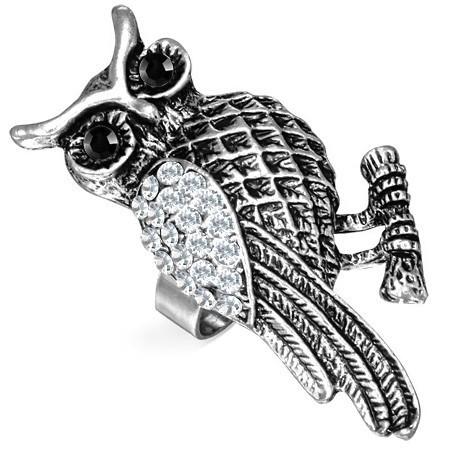 Dámský prsten sova th-fra280