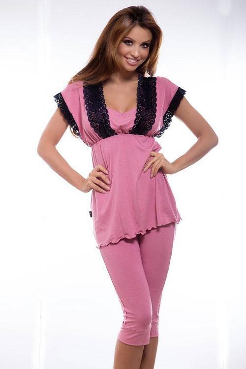 Dámské pyžamo Hamana Doroti rose