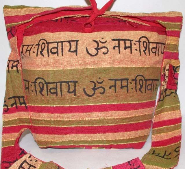 Indická oranžová taška jb-022