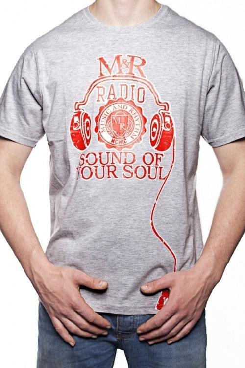 Pánské tričko OTS 1200-008 grey