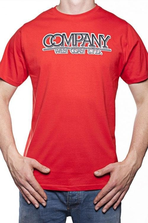 Pánské tričko OTS 1200-013 red